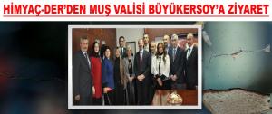 HİMYAÇ-DER'den Valisi Büyükersoy'a Ziyaret