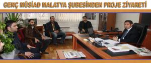 Genç MÜSİAD Malatya Şubesinden Proje Ziyareti