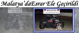 Malatya'da Esrar Ele Geçirildi