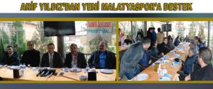 Arif Yıldız'dan Yeni Malatyaspor'a Destek
