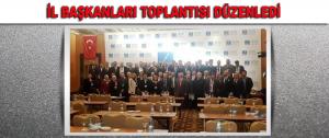 Millet ve Adalet Partisi İl Başkanları Toplantısı Düzenledi.