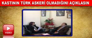 """Öz, """"Kastının Türk Askeri Olmadığını Açıklasın"""""""