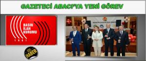 BİK Malatya Şube Müdürlüğüne Abacı atandı