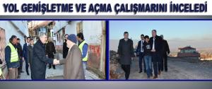 Başkan Polat Yol Genişletme Ve Açma Çalışmarını İnceledi