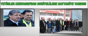 Yetimler Kervanın'dan Suriyelilere Battaniye Yardımı