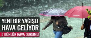 Malatya ve Bölgesinde Kuvvetli Yağmur Uyarısı