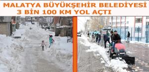 Kar Yağışı Dolayısıyla Kapanan 237 Mahallenin Yolu Ulaşıma Açıldı
