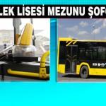 MOTAŞ'a Meslek Lisesi Mezunu Şoför Alınacak