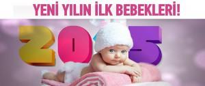 Türkiye'de yeni yılda dünyaya gelen bebekler