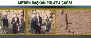 MP'den Başkan Polat'a Çağrı