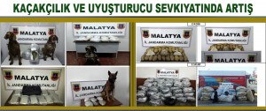 Kaçakçılık ve Uyuşturucu Sevkıyatında Artış