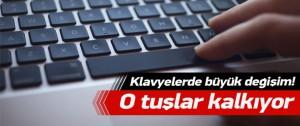 Klavyelerde 'Türkçe' devrimi