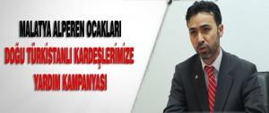 Malatya Alperen Ocakları Doğu Türkistanlı Kardeşlerimize  Yardım Kampanyası