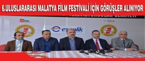 6.Uluslararası Malatya Film Festivali İçin Görüşler Alınıyor