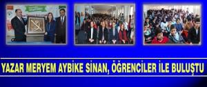 """""""Yeşilyurt KitapYURDU"""" Projesiyle Yazar Öğrenci Buluşmasının İlki Gerçekleşti"""