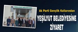 Ak Parti Gençlik Kollarından Yeşilyut Belediyesine Ziyaret