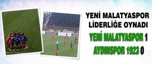 Yeni Malatyaspor 1-0 Aydınspor 1923