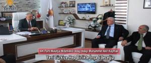 """Kaymak, """"Yeni Türkiye Hep Birlikte İnşa Edeceğiz"""""""