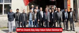 MHP'nin Dinamik Aday Adayı Hakan Kalkan Hekimhan'da…