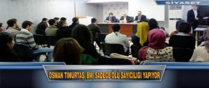 Osman Timurtaş, BM, Sadece Ölü Sayıcılığı Yapıyor