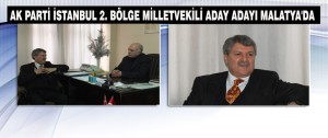 Ak Parti Milletvekili aday adayı Ömer Aydın Malatya'da