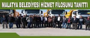 Malatya Belediyesi Hizmet Filosunu Tanıttı
