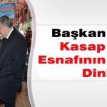 Başkan Gürkan Kasap Pazarı Esnafının Sorunları Dinledi