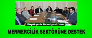 Belediye'den Mermercilik Sektörüne Destek