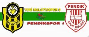 Yeni Malatyaspor 0 – 1 Pendikspor