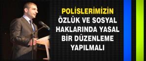 Süleyman Solmazgül Polis Teşkilatının 170 Yılını Kutladı
