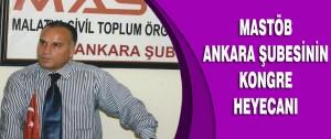 MASTÖB Ankara Şubesinin Kongre Heyecanı