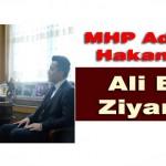 MHP A.Adayı Hakan Kalkan  Ali Evren'i Ziyaret Etti
