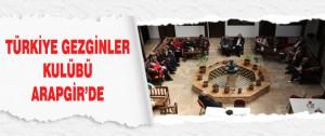 Türkiye Gezginler Kulübü Arapgir'de