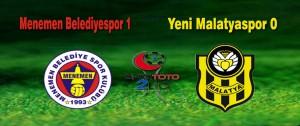 Menemenspor 1 – Yeni Malatyaspor 0