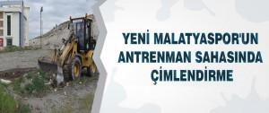 Yeni Malatyaspor'un Antrenman Sahasında Çimlendirme