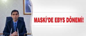 Maski'de EBYS Dönemi!