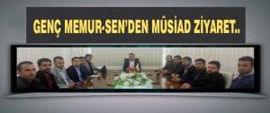 Genç Memur-Sen'den MÜSİAD Ziyaret..