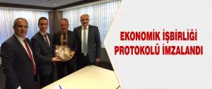 Ekonomik İşbirliği Protokolü İmzalandı