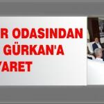 Emlakçılar Odasından Başkan Gürkan'a Ziyaret