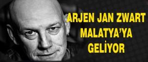 Arjen Jan Zwart Malatya'ya geliyor