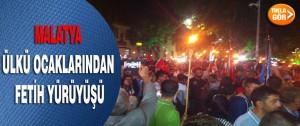Malatya Ülkü Ocaklarından Fetih Yürüyüşü