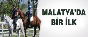 Malatya'da Bir İlk