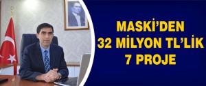 Maski'den 32 Milyon TL'Lik 7 Proje