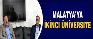 Malatya'ya İkinci Üniversite