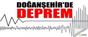 Doğanşehir'de Deprem