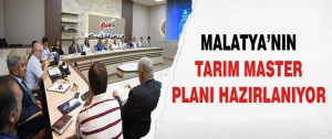 Malatya'nın Tarım Master Planı Hazırlanıyor