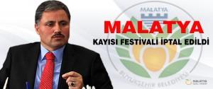 Malatya Kayısı Festivali İptal Edildi