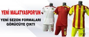 Yeni Malatyaspor'un Yeni Sezon Formaları Görücüye Çıktı