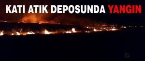 Katı Atık Deposunda Yangın