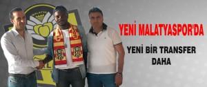 Yeni Malatyaspor'da Yeni Bir Transver Daha